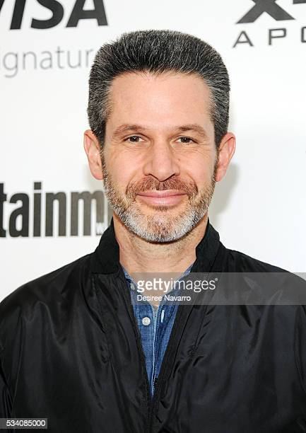Screenwriter/producer Simon Kinberg attends 'XMen Apocalypse' New York Screening at Entertainment Weekly on May 24 2016 in New York City