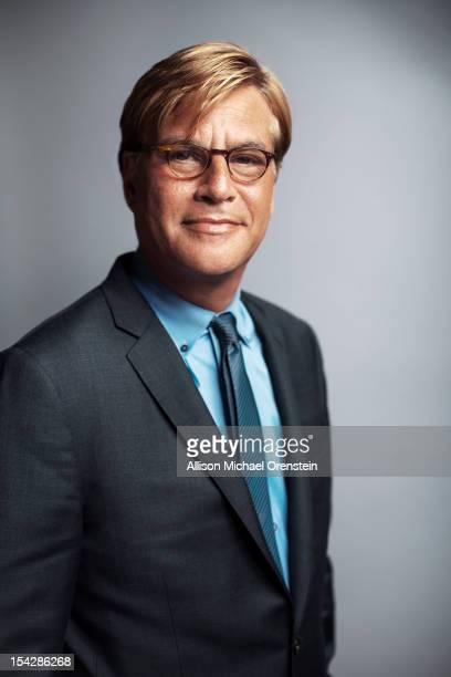 Screenwriter/producer/director Aaron Sorkin is photographed for Wall Street Journal on June 18 2012 in New York City