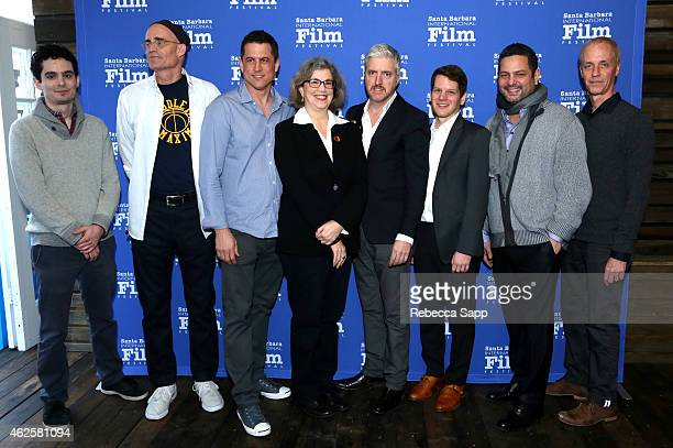 Screenwriters Damien Chazelle of 'Whiplash' Max Frye of 'Foxcatcher' Jason Hall of 'American Sniper' moderator Anne Thompson screenwriters Anthony...