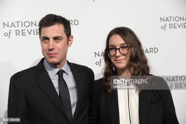 Screenwriters Josh Singer and Liz Hannah attend the 2018 The National Board Of Review Annual Awards Gala at Cipriani 42nd Street on January 9 2018 in...