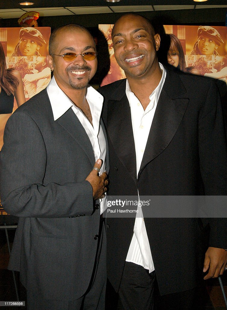 Screenwriters Kim Watson and Alonzo Brown during Honey - New York Premiere - Inside Arrivals at Chelsea West Theater in New York City, New York, United States.