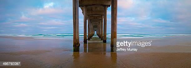 Scripps Pier is located in La Jolla, California
