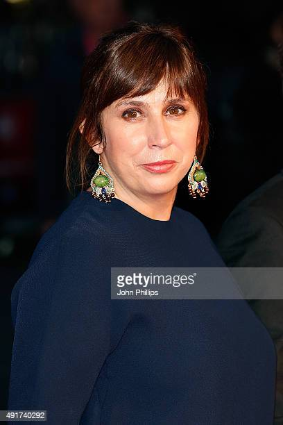 Scriptwriter Abi Morgan attends the Suffragette Premiere during the Opening Night Gala during the BFI London Film Festival at Leicester Square on...