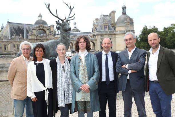 """FRA: """"Les Aventures Du Jeune Voltaire !"""" - Shooting In Chantilly Castle"""