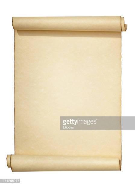 Scroll Aislado en blanco
