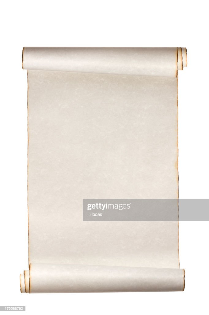 Scroll Paper : Stock Photo