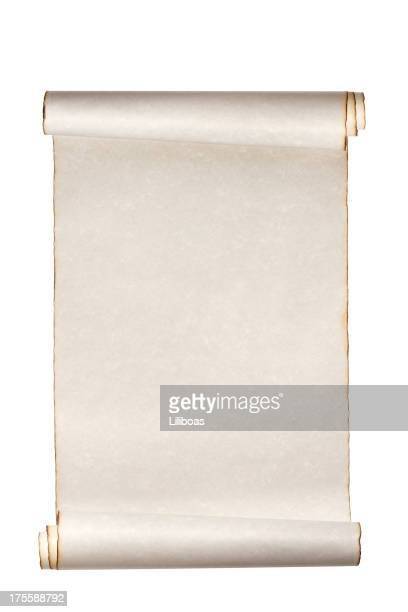 scroll paper - parchment stock pictures, royalty-free photos & images