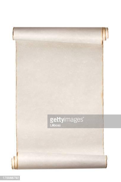 Scroll de papel