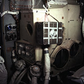 Scrubber made from parts found aboard the apollo 13 spacecraft an in picture id576878500?s=170x170