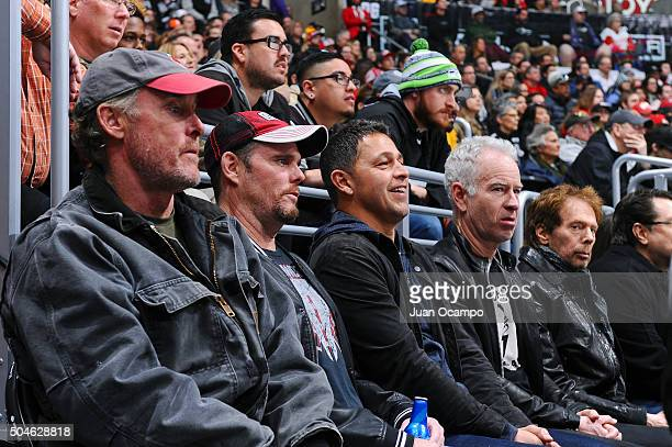 Scrubs actor John C McGinley, Entourage actor Kevin Dillon, friend and restaurant owner Nate, tennis great John McEnroe, and television producer...