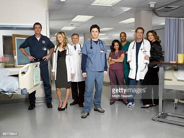 SCRUBS Scrubs stars Neil Flynn as The Janitor Sarah Chalke as Elliot Reid Ken Jenkins as Dr Bob Kelso Zach Braff as John 'JD' Dorian Donald Faison as...