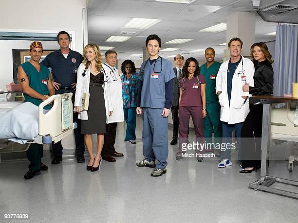 SCRUBS Scrubs stars Rob Maschio as The Todd Neil Flynn as The Janitor Sarah Chalke as Elliot Reid Ken Jenkins as Dr Bob Kelso Aloma Wright as Nurse...