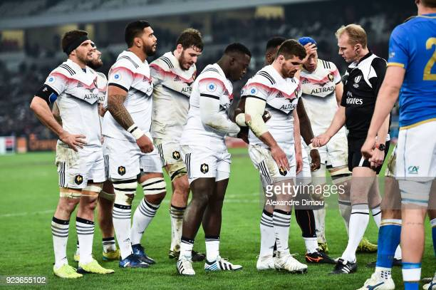 Scrumb of France during the NatWest Six Nations match between France and Italy at Stade Velodrome on February 23 2018 in Marseille France