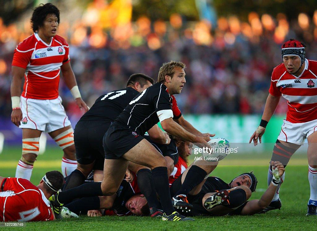 Canada v Japan - IRB RWC 2011 Match 30