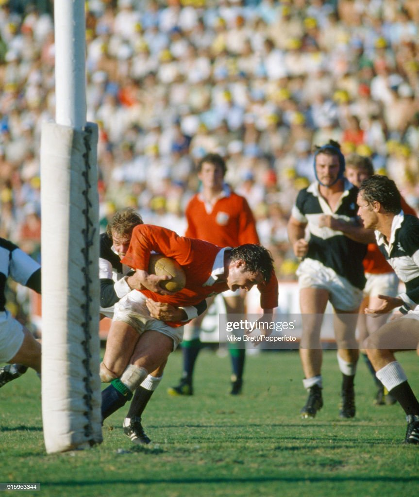 Scrum-half Terry Holmes of the British Lions (with the ball) in action during their match against Natal at King's Park Stadium in Durban on 17th May 1980. The British Lions won 21-15.