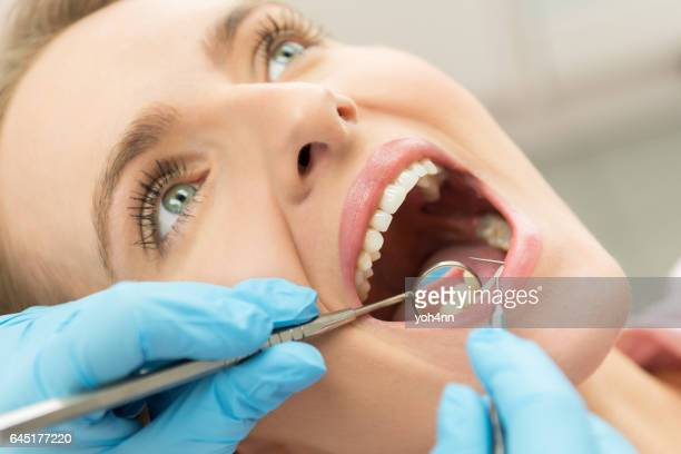 Scrutiny of teeth