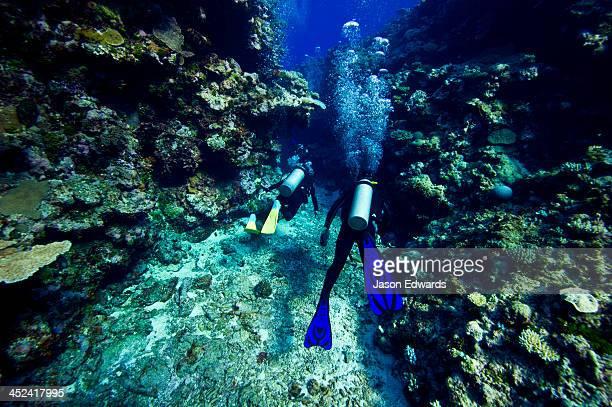 Kokod Point, Ringgold Atolls, Pacific Ocean, Fiji Islands.