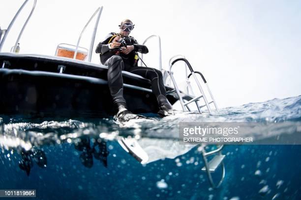 scuba diving - scuba diving stock pictures, royalty-free photos & images