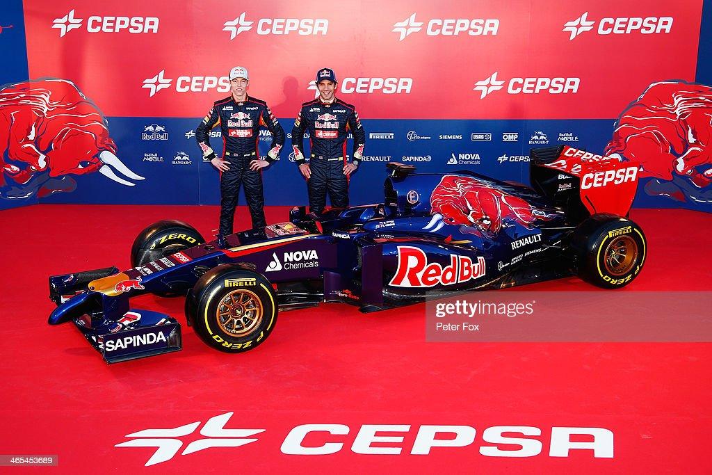 Scuderia Toro Rosso F1 Launch : News Photo