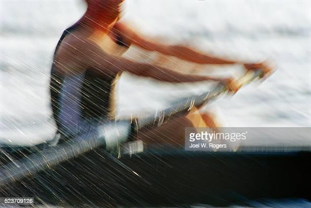 Sculler Rowing