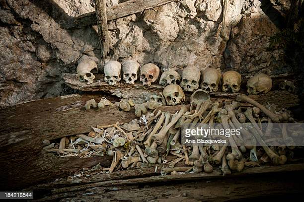 CONTENT] Sculls and bones in burial site near Ke'te Kesu in Tana Toraja Tana Toraja situated in the south of Sulawesi sometimes reminds alive museum...