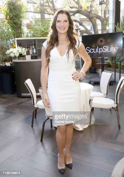 SculpSure announces Brooke Shields as celebrity spokesperson on April 23 2019 in Los Angeles California