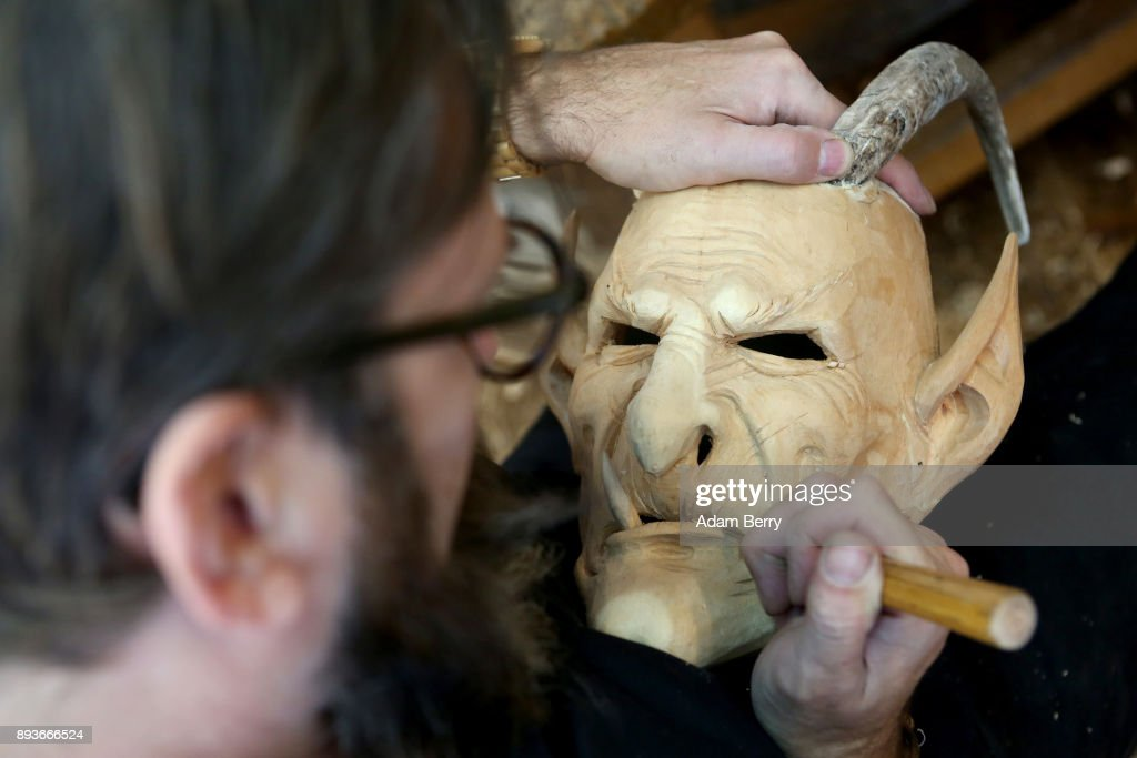 Rising Popularity Of Krampus Tradition Keeps Artisans Busy