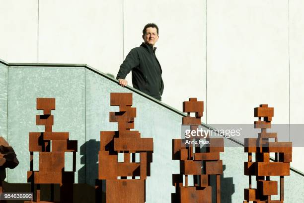 Sculptor Anthony Gormley is photographed for the Royal Academy magazine on October 3 2017 in London England