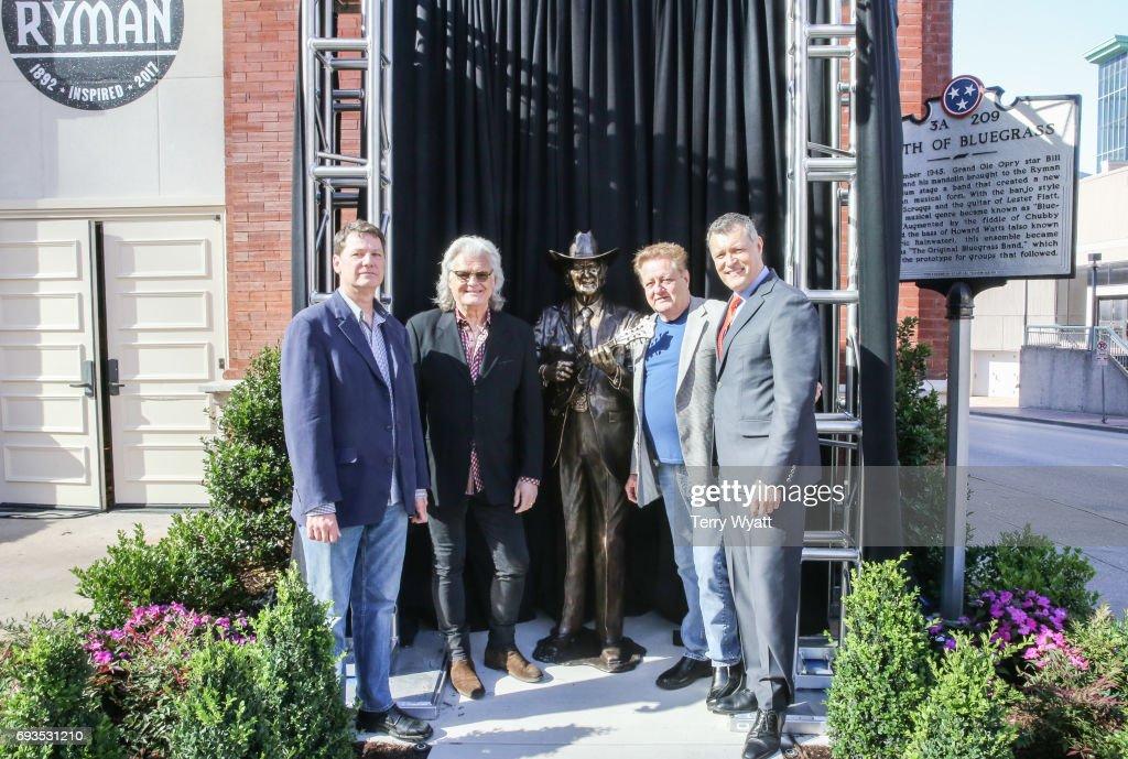 Little Jimmy & Bill Monroe Statue Unveiling