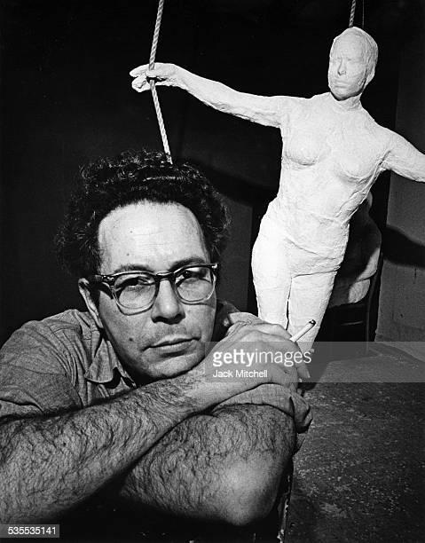 Sculptor George Segal 1969