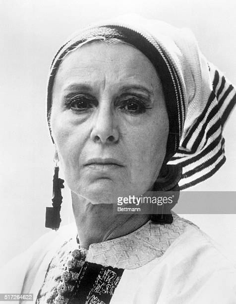 Sculptor Louise Nevelson
