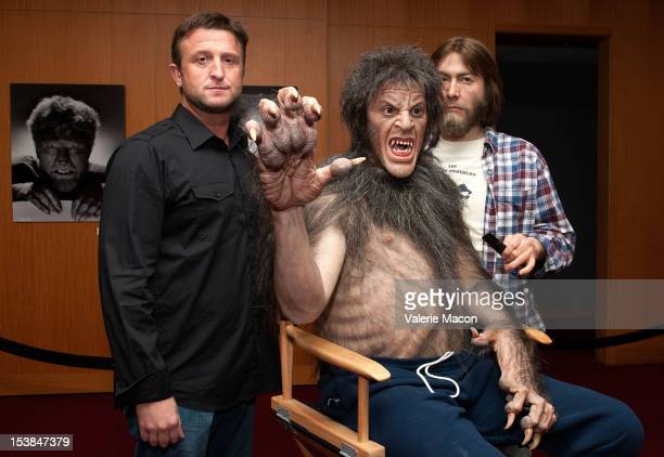 Sculptor Mike Hill attends The Academy of Motion Picture Arts and Sciences' screening of 'The Wolf Man' and 'An American Werewolf In London' at AMPAS...