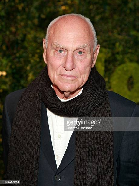 Sculptor Richard Serra attends the 2012 Party In The Garden Benefit at the Museum of Modern Art on May 22, 2012 in New York City.