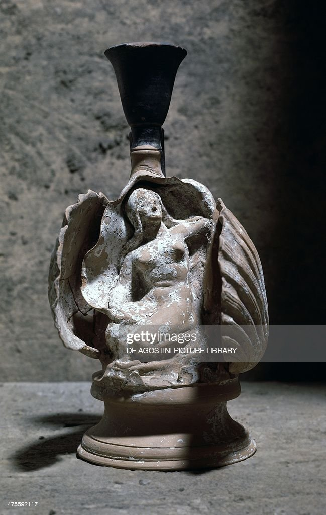 Sculptural Vase Of The Birth Of Aphrodite Greek Civilisation 4th