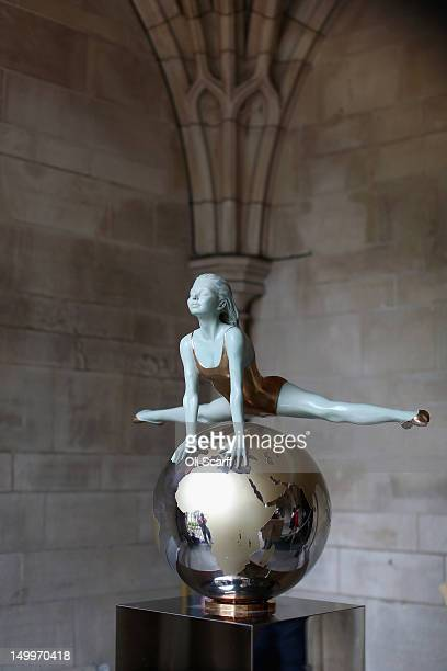 A sculpture by artist Eleanor Cardozo in the grounds of Westminster Abbey on August 8 2012 in London England A series of bronze sculptures dedicated...