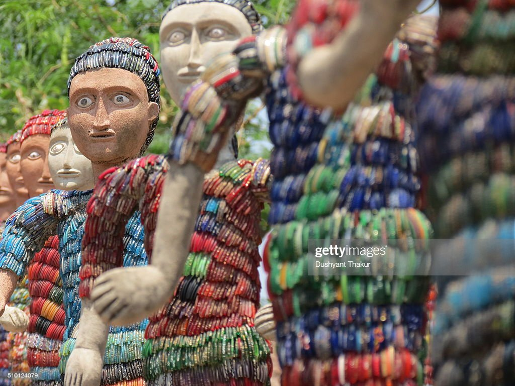 A sculpture garden also known as Nek Chand`s Rock Garden after its founder Nek Chand a government official who started the garden secretly in his...