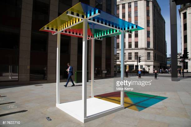 Sculpture in the City on July 17th 2017 in the City of London England United Kingdom Each year the critically acclaimed Sculpture in the City returns...