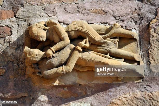 Sculpture kandariya mahadeva temple, khajuraho, madhya pradesh, India, Asia