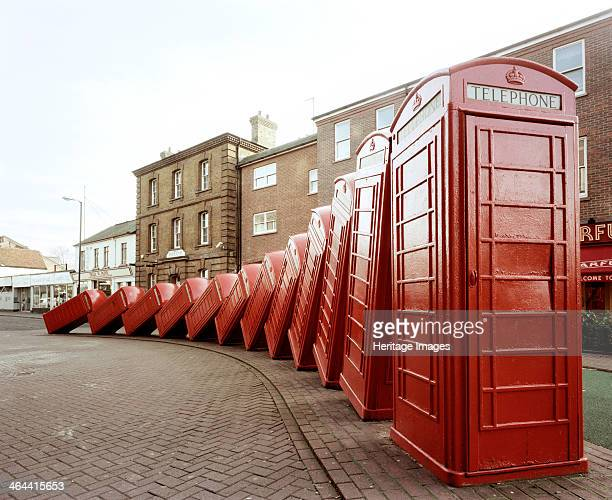 Sculpture London Road Kingston Upon Thames London 1999 When the old K6 type telephone boxes were withdrawn the question of what to do with them...