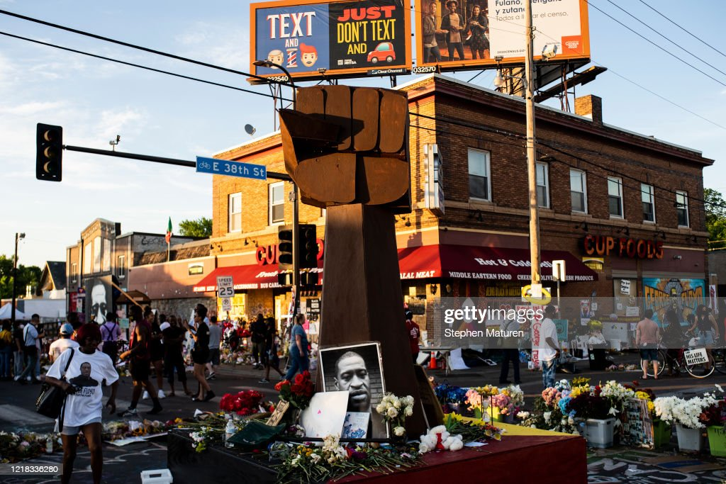 Protests Continue Across The Country In Reaction To Death Of George Floyd : ニュース写真