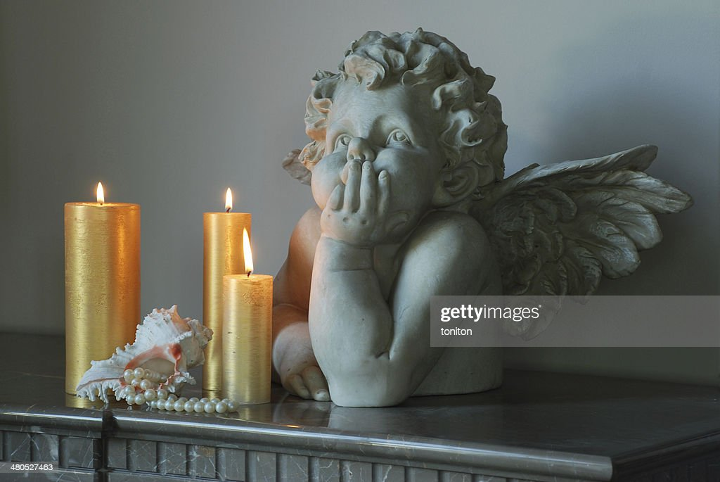 Sculpture de l'ange : Photo