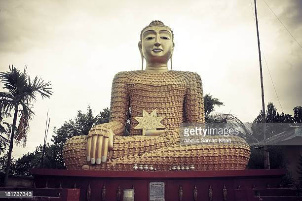 Sculpture of Buddha at Khagrachhori, Bangladesh