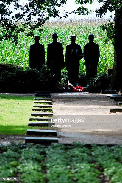 CONTENT] Sculpture of four mourning figures by Professor Emil Krieger at the WW1 German war cemetery of Langemark The German war cemetery of...