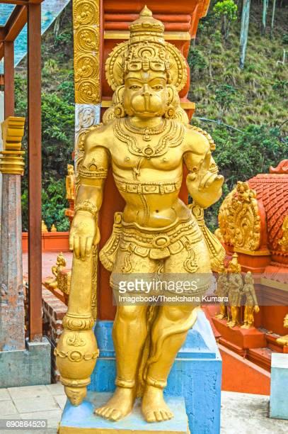 Sculpture of Hanuman at Sita Amman Temple