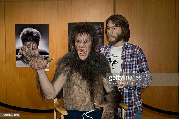 Sculpture of Rick Baker at the 'Universal's Legacy Of Horror' Hosted By AMPAS Screens 'The Wolf Man' And 'An American Werewolf in London' at AMPAS...