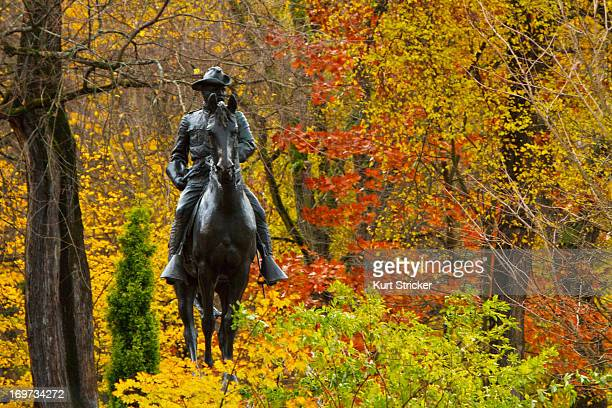 CONTENT] A sculpture of Teddy Roosevelt riding horseback stands proud on Park Avenue in downtown Portland Oregon His leisurely stroll is one of...