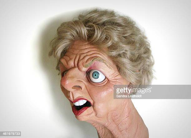 CONTENT] A sculpture of the former Prime Minister of the United Kingdom Margaret Thatcher as publicly displayed in Parliament in London England...