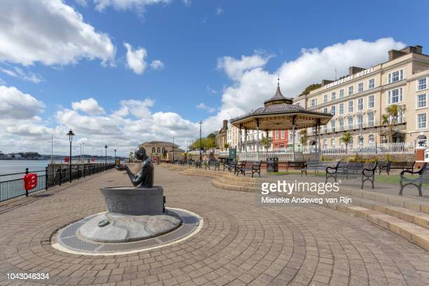 Sculpture of The Navigator at the esplanade of Cobh, County Cork, Ireland