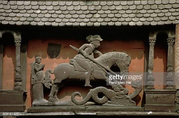 Sculpture of William the Conqueror on Horseback