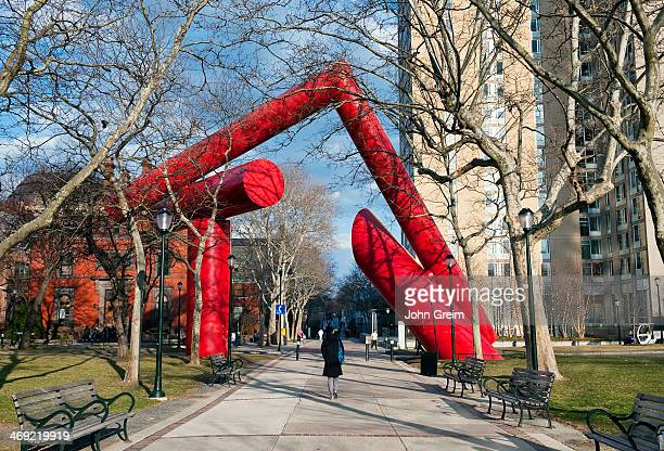 Sculpture on the campus of the University of Pennsylvania